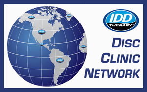 FAQ Frequently Asked Questions footer - Logo for IDD Therapy for Disc Clinic Network