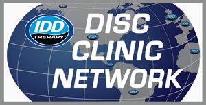 IDDTherapy Disc Clinic Network Logo